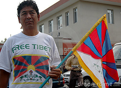 Free Tibet Editorial Image