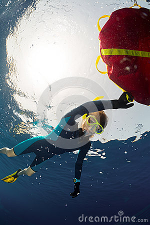 Free Freediver Stock Photos - 45600443
