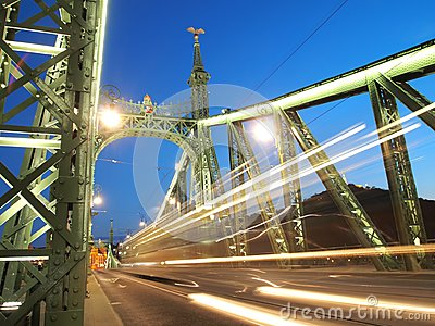 Freedom Bridge Stock Photography - Image: 25181372