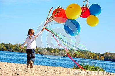 Freedom happiness childhood