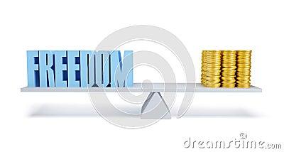 Freedom and money