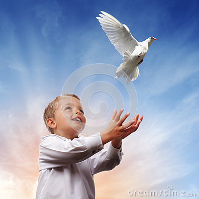Free Freedom, Peace And Spirituality Stock Image - 33236181