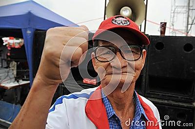Freedom of Speech Rally Editorial Photo