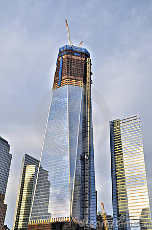Freedom Tower in New York City Editorial Photo