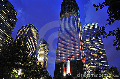 Freedom Tower - World Trade Center Editorial Photography