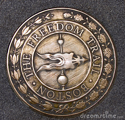 Free Freedom Trail Boston Massachusetts Royalty Free Stock Photography - 10153297
