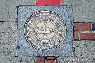 The Freedom Trail Sign