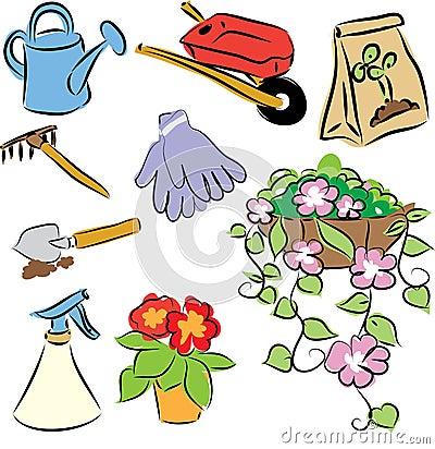 Freehand garden tools