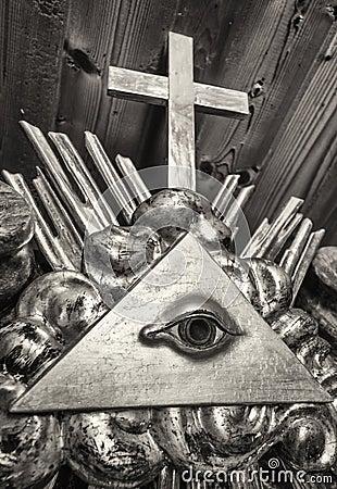 Free Freemason Symbol Stock Photography - 63602842