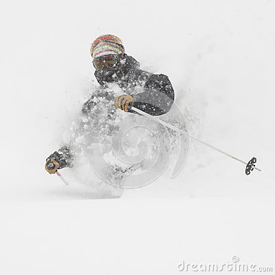 Free Freeride In Siberia Stock Images - 28868424