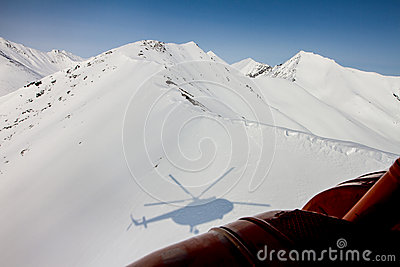 Freeride on  Kamchatka