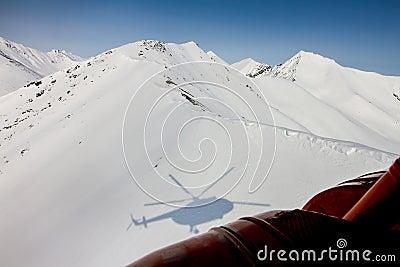Freeride on  Kamchatka