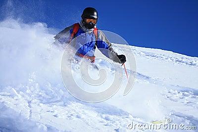 Freeride skier 1