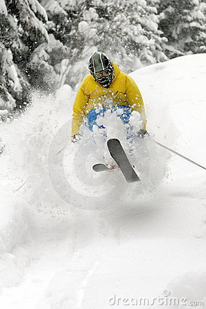 Freeride Skier.