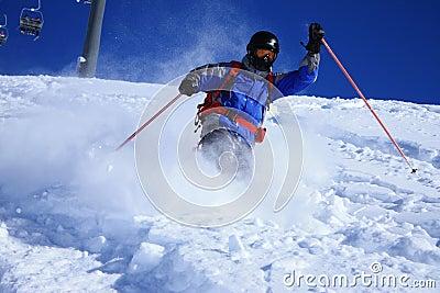 Freeride skier 2