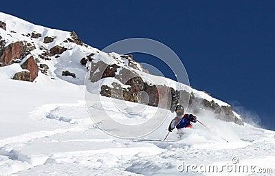 Freeride skier 3