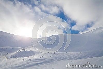 Freeriding slope