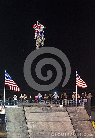 Freestyle cowboys motocross Editorial Stock Photo