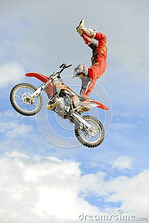 Freestyle moto-x air Editorial Stock Photo