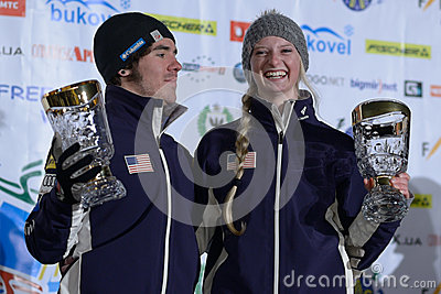 Freestyle Ski World Cup Editorial Stock Photo