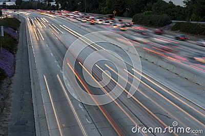 Freeway Long Exposure
