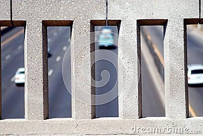 Freeway Overpass Wall