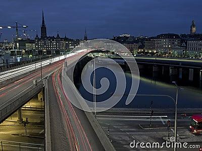 Freeway shot with long exposure
