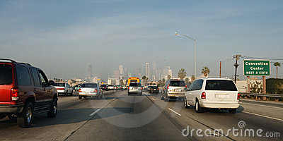 Freeway Traffic in Los Angeles