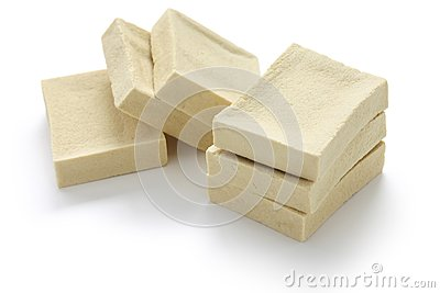 Freeze-dried bean curd