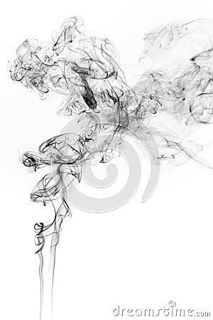 Free Freeze Motion Of Smoke. Stock Photos - 91803143