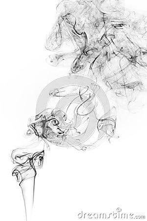 Free Freeze Motion Of Smoke. Stock Photo - 91803180