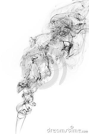 Free Freeze Motion Of Smoke. Stock Photos - 91803183