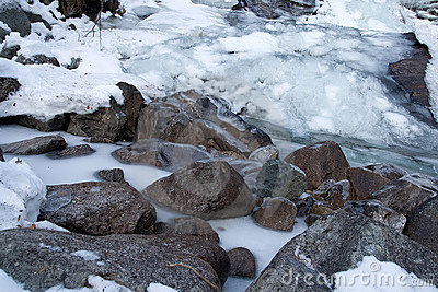 Freeze river