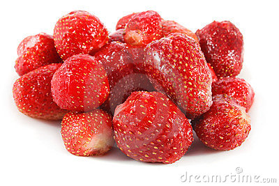 Freeze strawberry