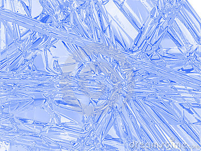 The freezed surface.