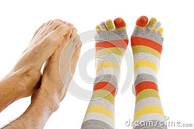 Freezing foot