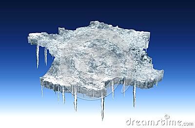 Freezing france