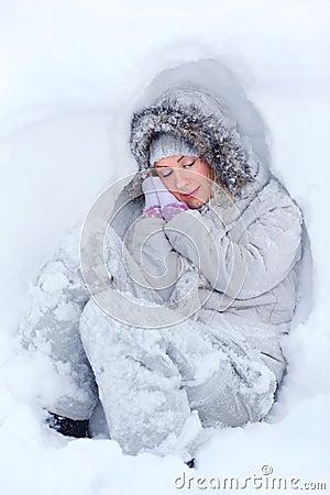 Freezing sleep