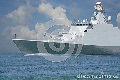 Fregate. Sea patrole.