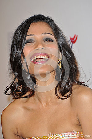 Freida Pinto Editorial Photography