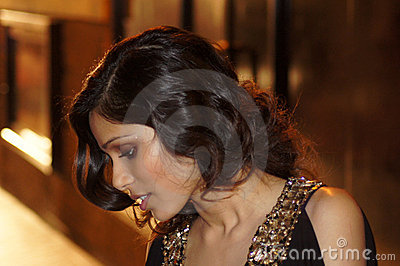 Freida Pinto At The Miral Premiere Editorial Stock Photo