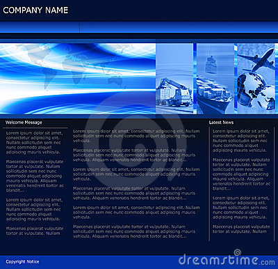 Freight Business Website Template