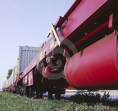 Free Freight Cars Royalty Free Stock Photo - 19549665