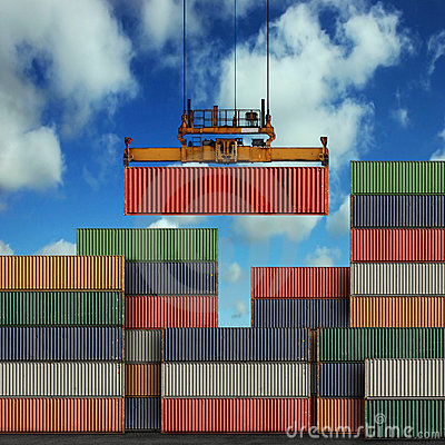 Free Freight Containers Royalty Free Stock Photography - 10317897