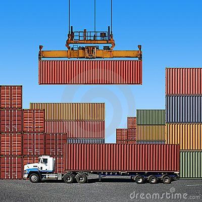 Free Freight Containers Stock Photos - 11720883