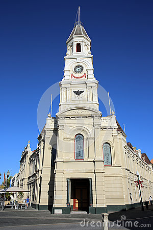 Fremantle Town Hall Editorial Stock Photo