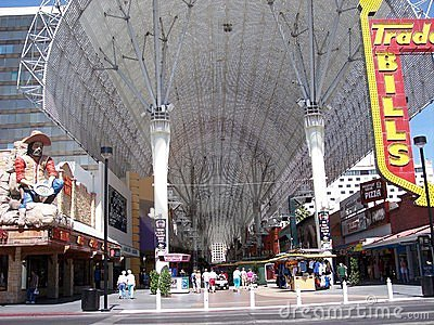 Fremont Street canopy by day, Las Vegas