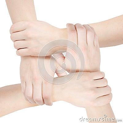 Förenade händer
