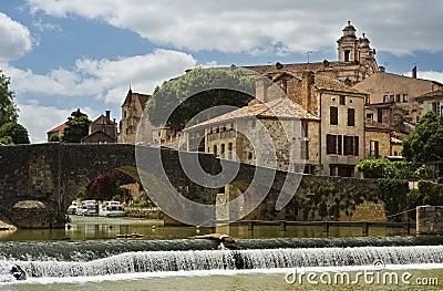 French bastide village