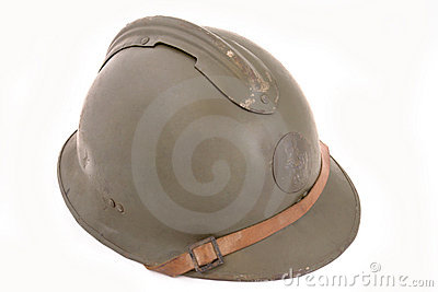 French battle helmet